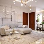 Thiết kế nội thất chung cư Tecco Green Nest 60m2 – Anh Chiến