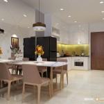 Thiết kế nội thất chung cư Hưng Ngân 69m2 – Chị Yến