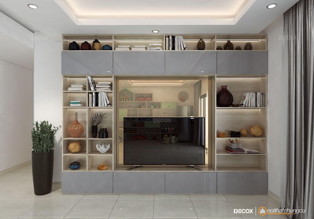 Thiết kế nội thất chung cư Lexington 72m2
