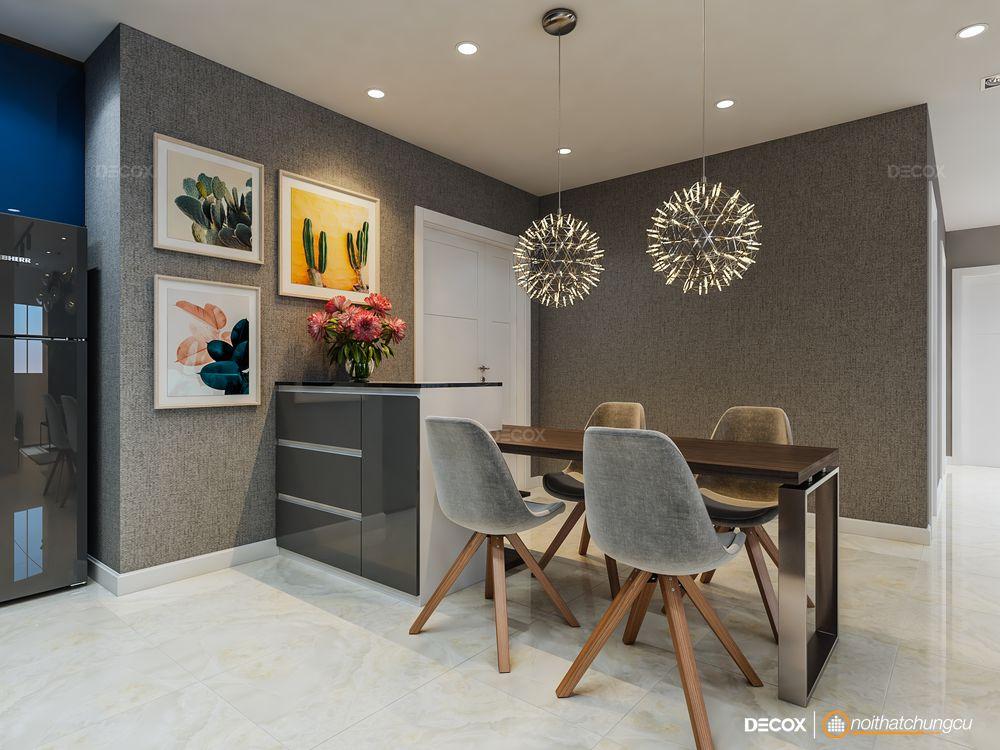 Thiết kế nội thất chung cư 109m2 TDH Trường Thọ