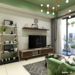 Thiết kế nội thất chung cư Masteri Thảo Điền 64m2 – Chị Zeng Shi Shan