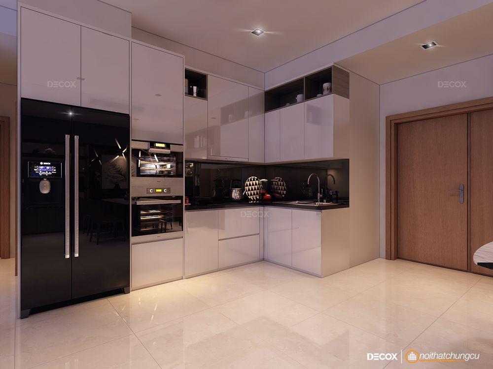 Thiết kế nội thất chung cư Sarimi Sala 115m2