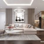 Thiết kế nội thất chung cưThe Art 86m2 – Anh Trí