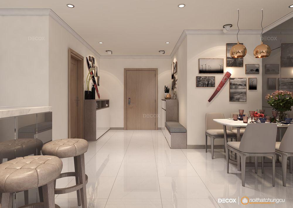 Thiết kế nội thất chung cư 112m2 Vinhomes Central Park