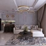Thiết kế nội thất chung cư 122m2 Vinhomes Central Park – Chị Thu