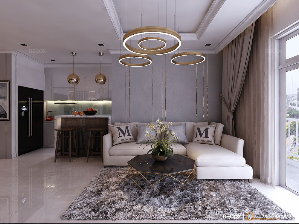Thiết kế nội thất chung cư 122m2 Vinhomes Central Park