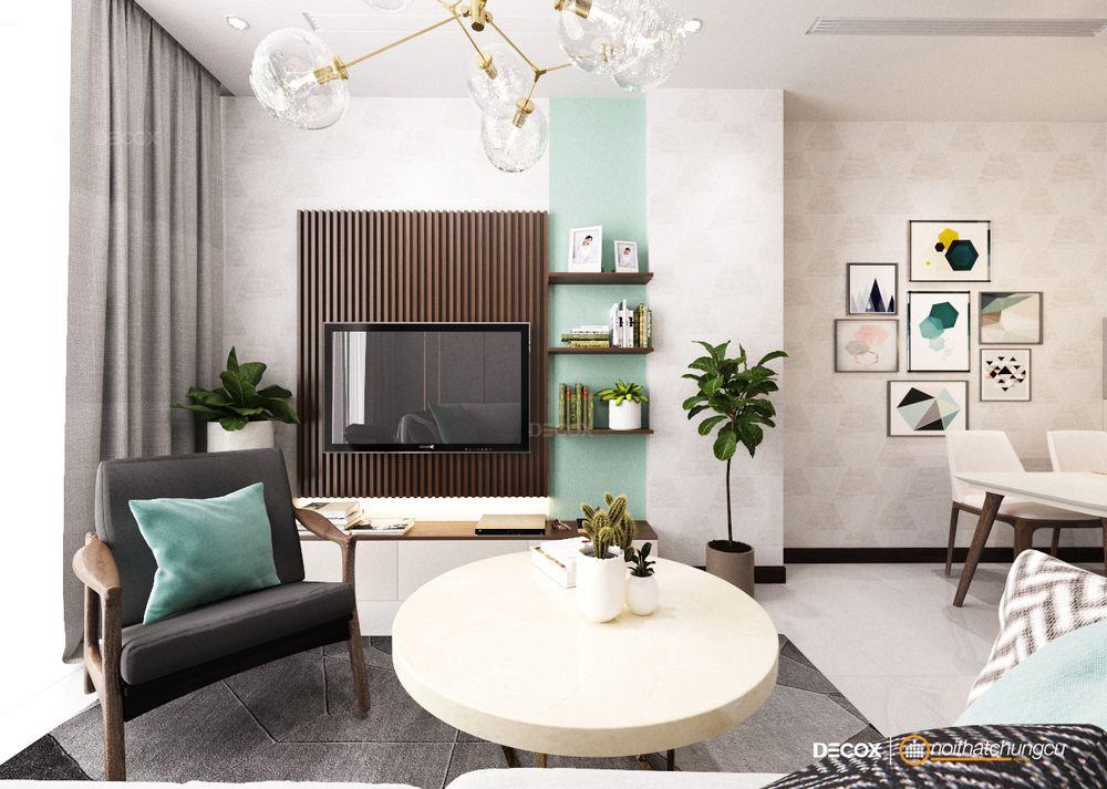 Thiết kế nội thất chung cư 63m2 Vinhomes Central Park
