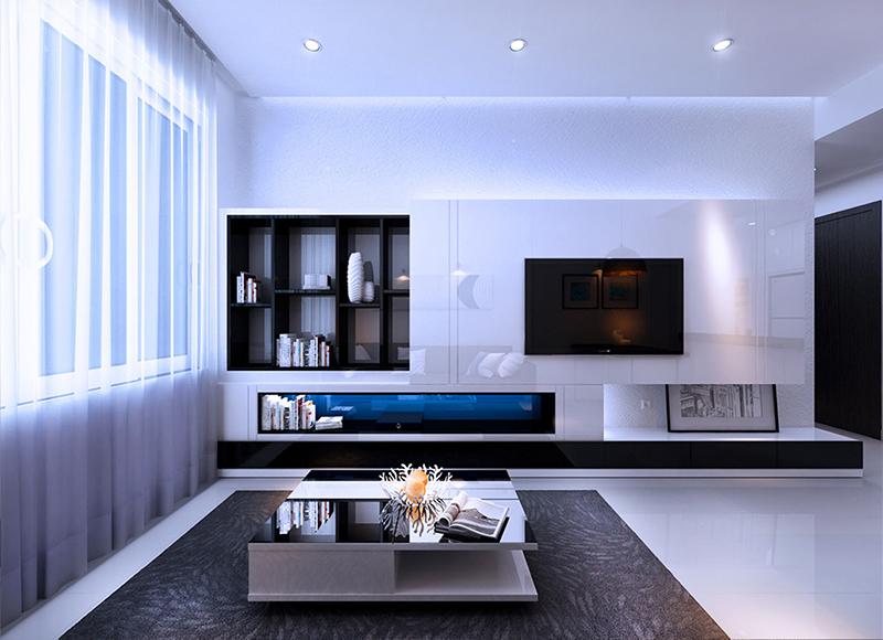 Thiết kế nội thất căn hộ River Gate