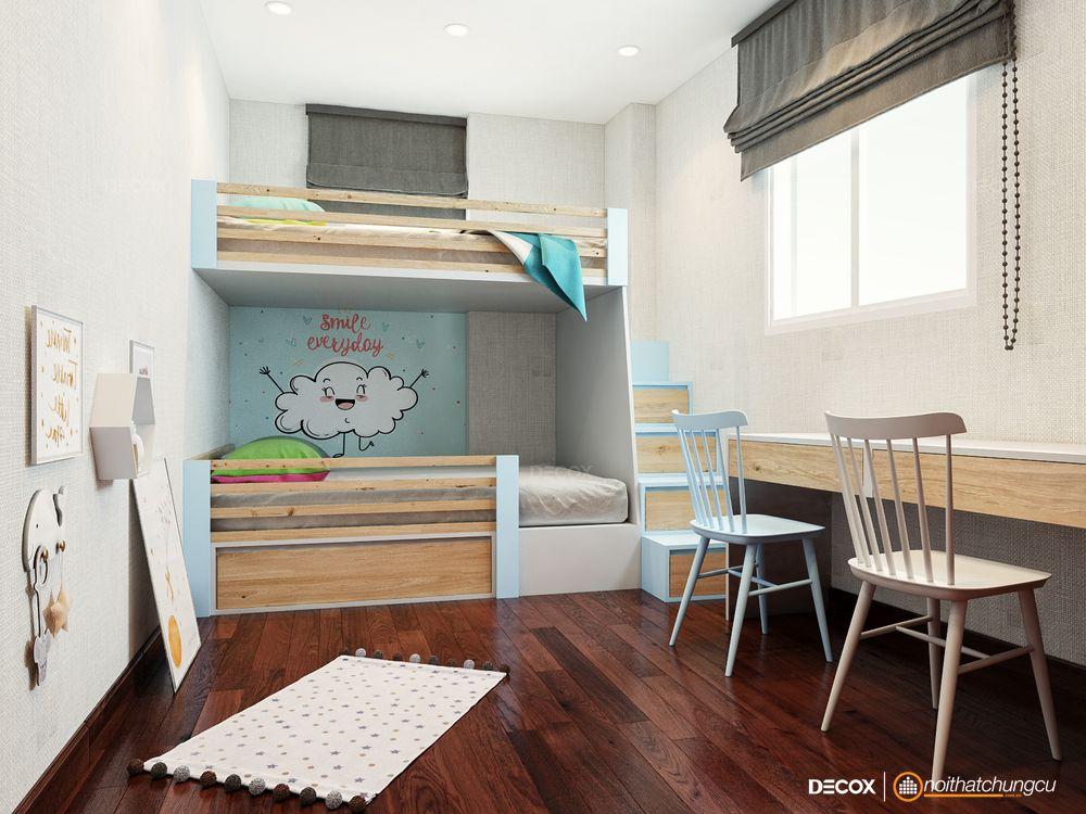Thiết kế nội thất chung cư 92m2 Belleza