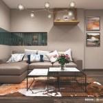 Thiết kế nội thất chung cư Bộ Công An 70m2