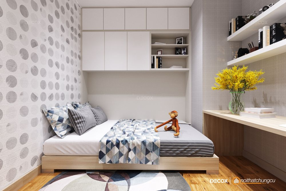 Thiết kế nội thất chung cư Garden Gate 87m2