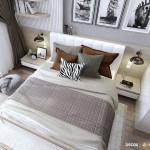 Thiết kế nội thất chung cư 68m2 Orchard Garden