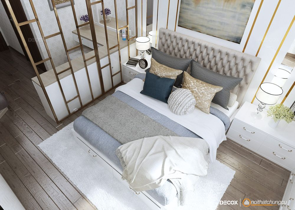 Thiết kế nội thất chung cư 118m2 Vinhomes Central Park