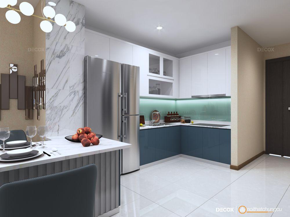 Thiết kế nội thất căn hộ 72m2 Vinhomes Central Park