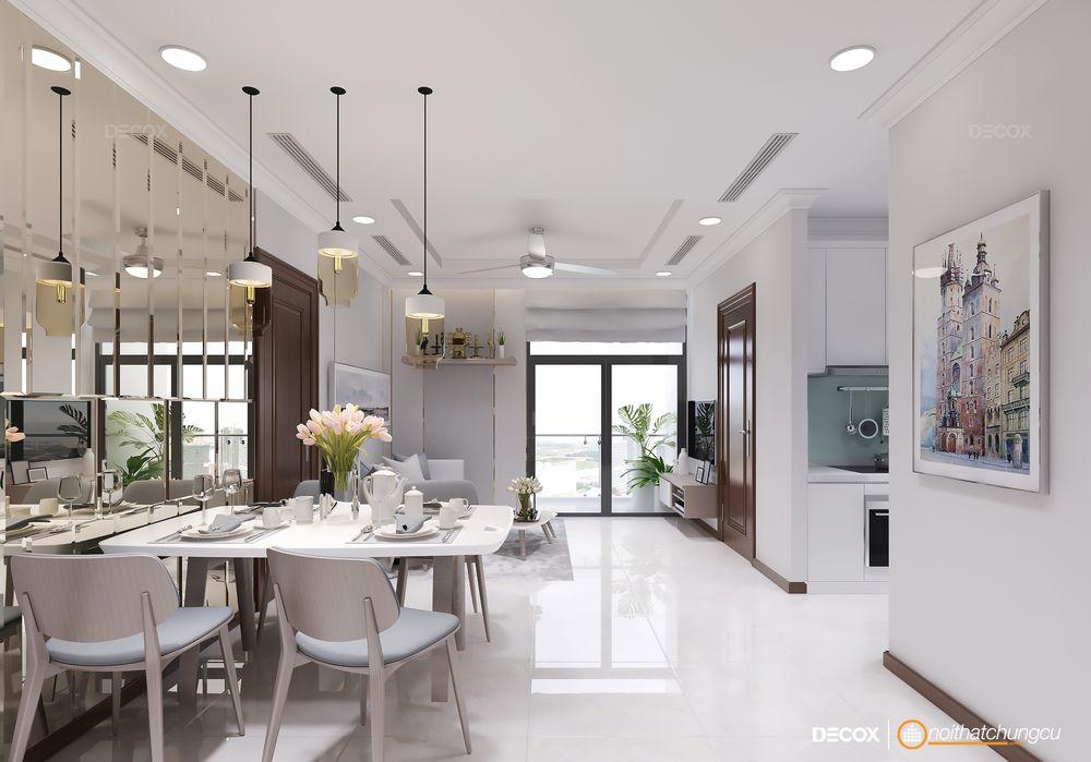 Thiết kế nội thất chung cư 87m2 Vinhomes Central Park