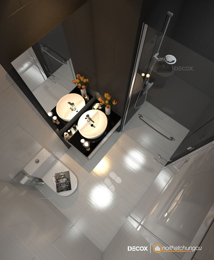 Thiết kế nội thất chung cư Vista Verde 84m2