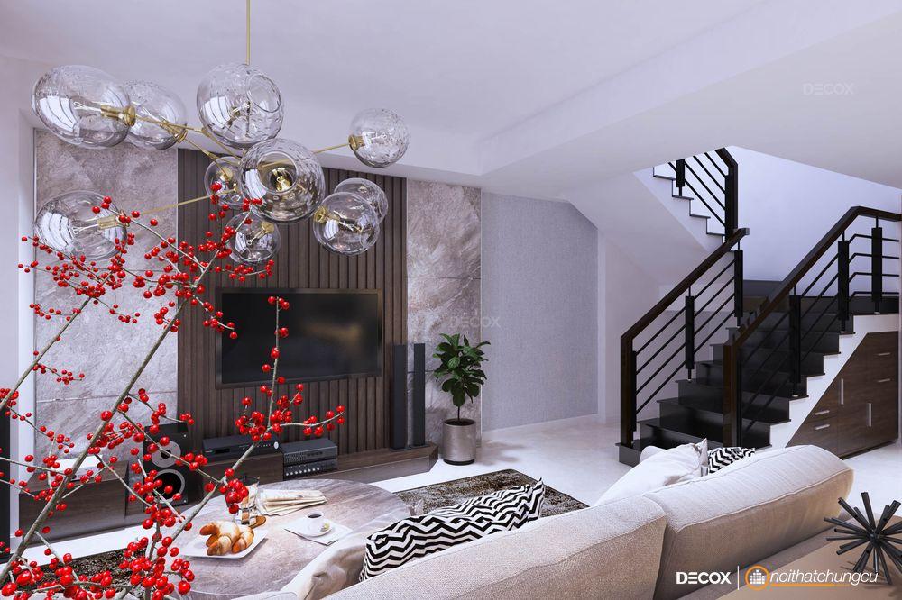 Thiết kế nội thất căn hộ Duplex 110m2 Masteri