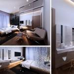 Thiết kế nội thất căn hộ chung cư River Gate