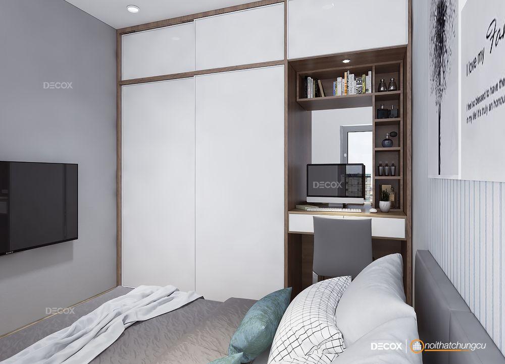 Thiết kế nội thất chung cư Botanica 66m2
