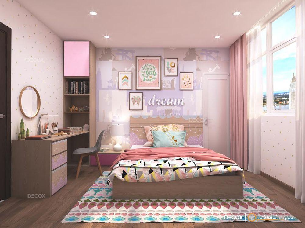 Thiết kế nội thất chung cư Bến Thành Luxyry 90m2