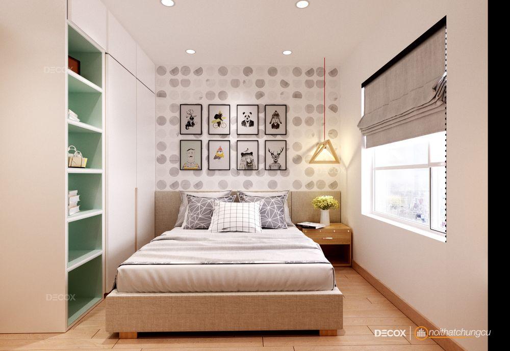 decox-Thiết kế nội thất chung cư M-One 63m2