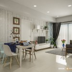 Thiết kế nội thất căn hộ chung cư Masteri Thảo Điền 65m2