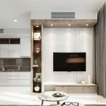 Thiết kế nội thất chung cư 83m2 Sarimi Sala