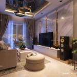Thiết kế nội thất chung cư Scenic Valley 107m2