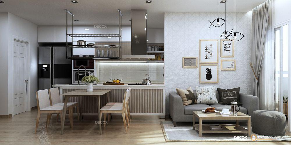 Thiết kế nội thất chung cư Tecco Tower 102m2