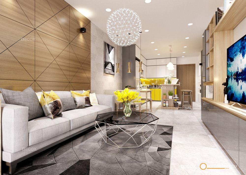 Thiết kế nội thất chung cư Gold View 84m2