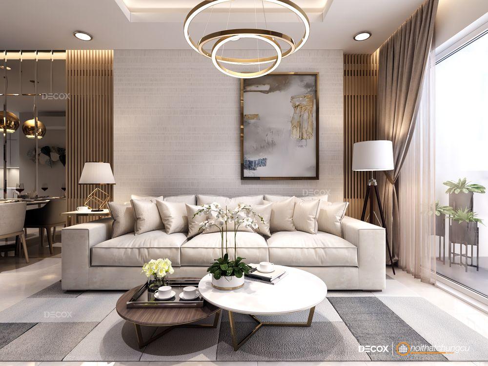 Thiết kế nội thất chung cư The Park Avenue 76m2