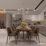 Thiết kế nội thất chung cư 120m2 Vinhomes Central Park