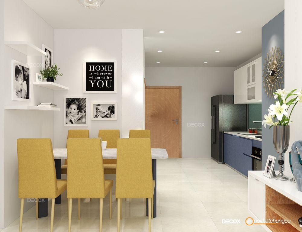Thiết kế nội thất chung cư 67m2 Vinhomes Central Park