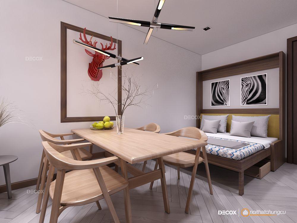 Thiết kế nội thất chung cư Vista Verde 54m2
