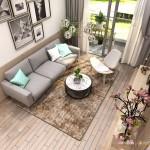 Thiết kế nội thất chung cư 73m2 Everrich Infinity