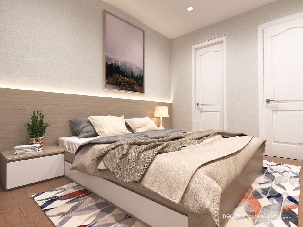 Thiết kế nội thất chung cư The Art 69m2