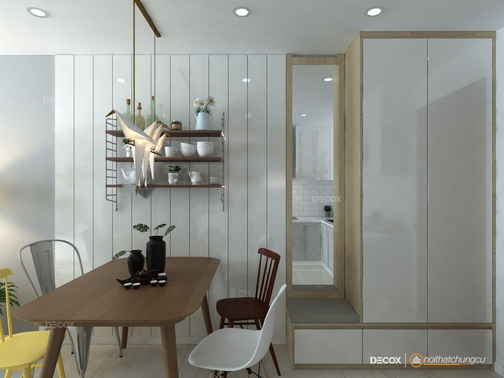 Thiết kế nội thất chung cư M-One 53m2