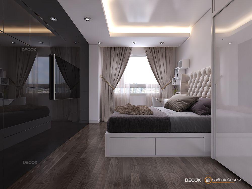 Thiết kế nội thất chung cư Lexington 58m2