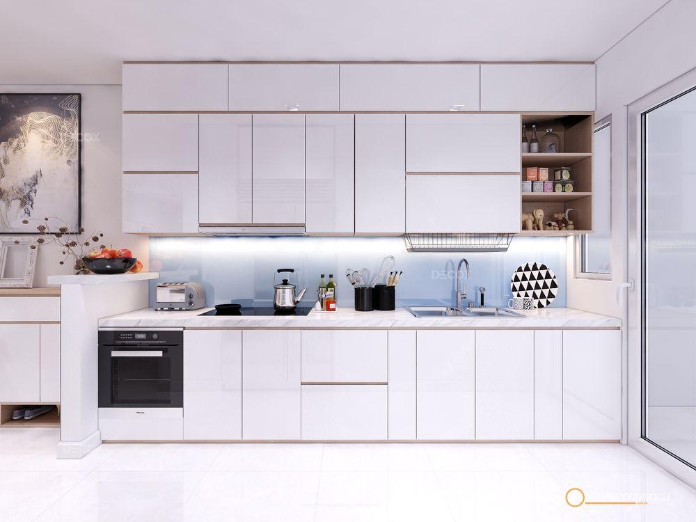 Thiết kế nội thất chung cư Vista Verde 74m2