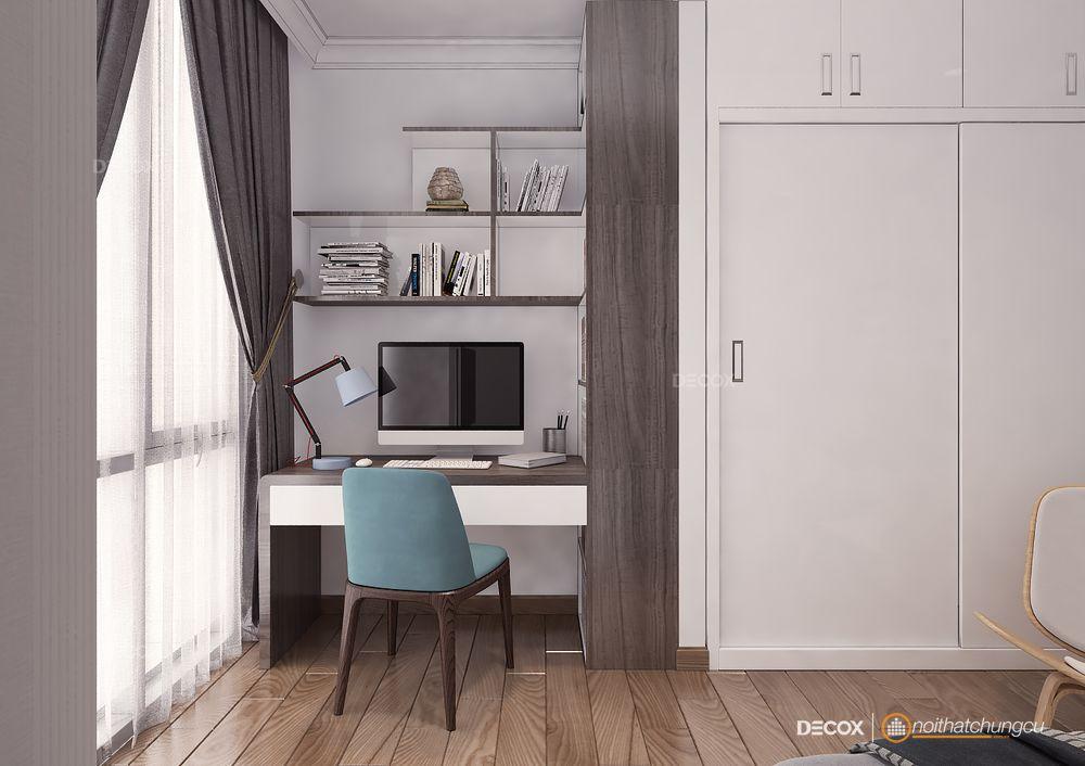 Thiết kế nội thất chung cư 97m2 Vinhomes
