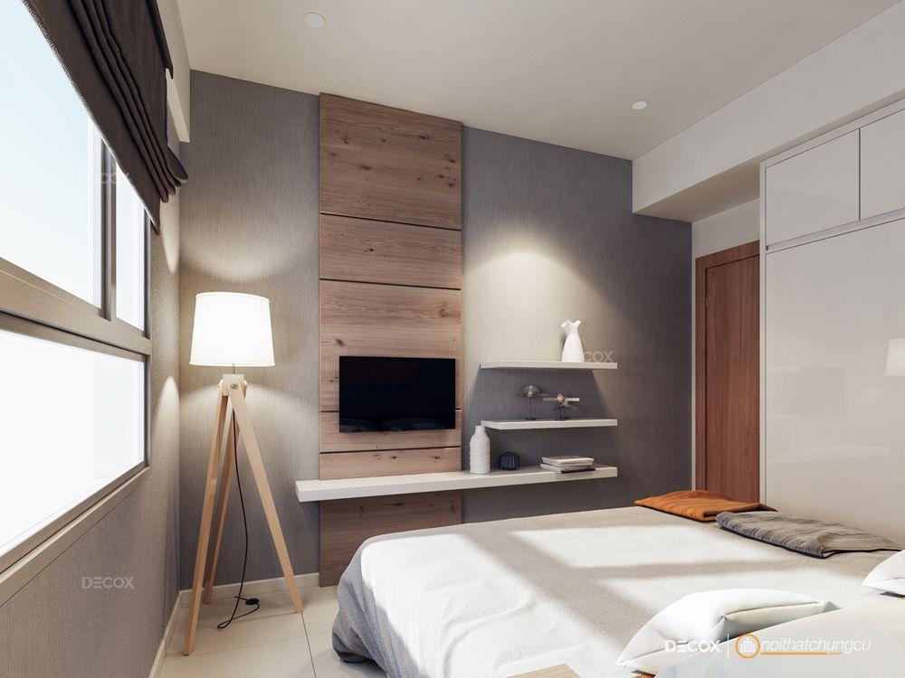 Thiết kế nội thất chung cư Jamona 57m2