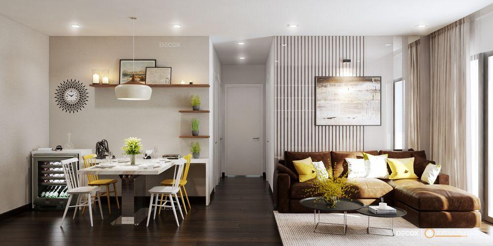 Thiết kế nội thất chung cư Orchard Garden 89m2