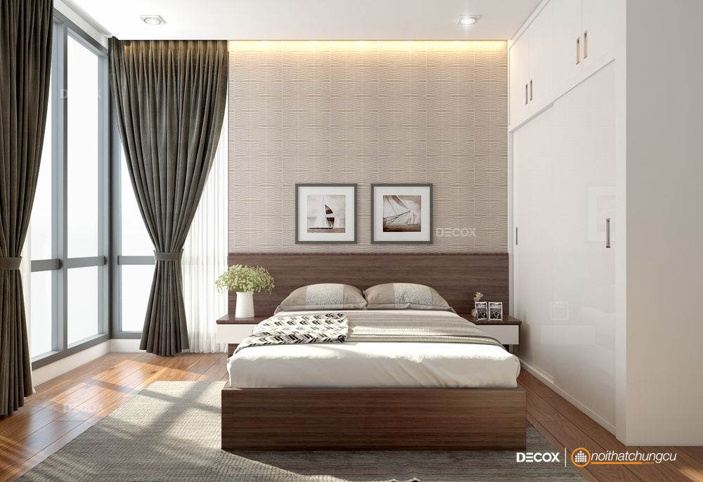 5 thủ thuận đơn giản giúp nới rộng không gian phòng ngủ