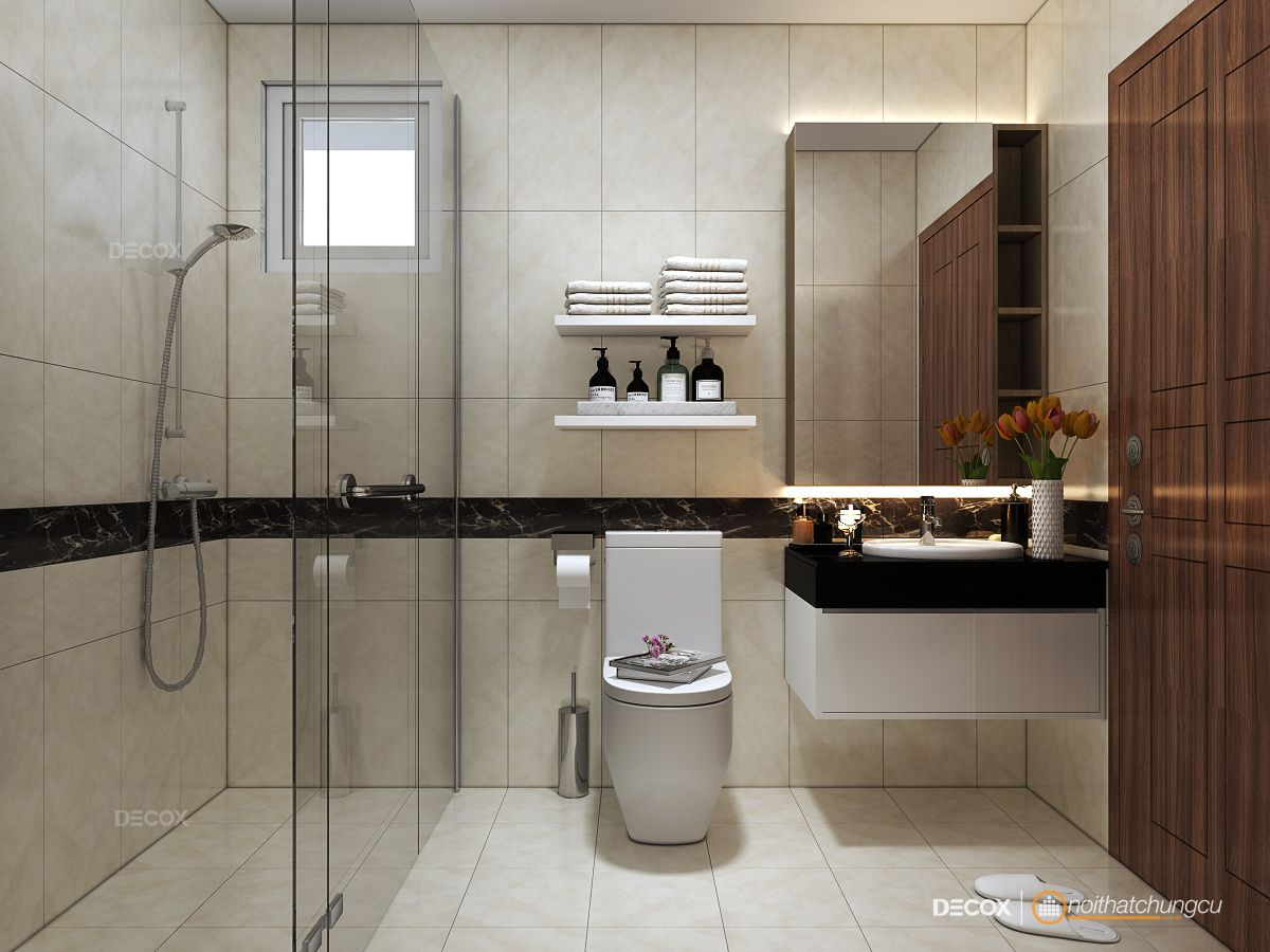 Thiết kế nội thất chung cư Giai Việt 105m2