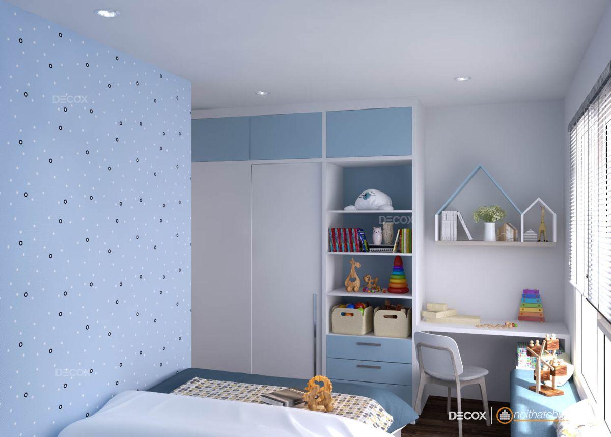 Thiết kế nội thất chung cư Gold View 117m2