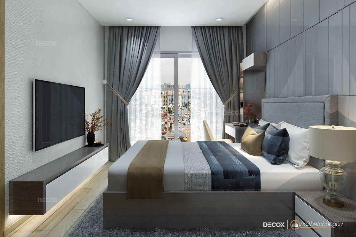 Thiết kế nội thất chung cư 82m2 M-One