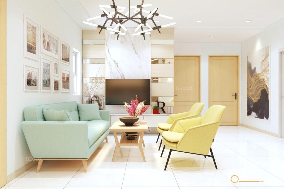 Thiết kế nội thất chung cư Oriental 89m2