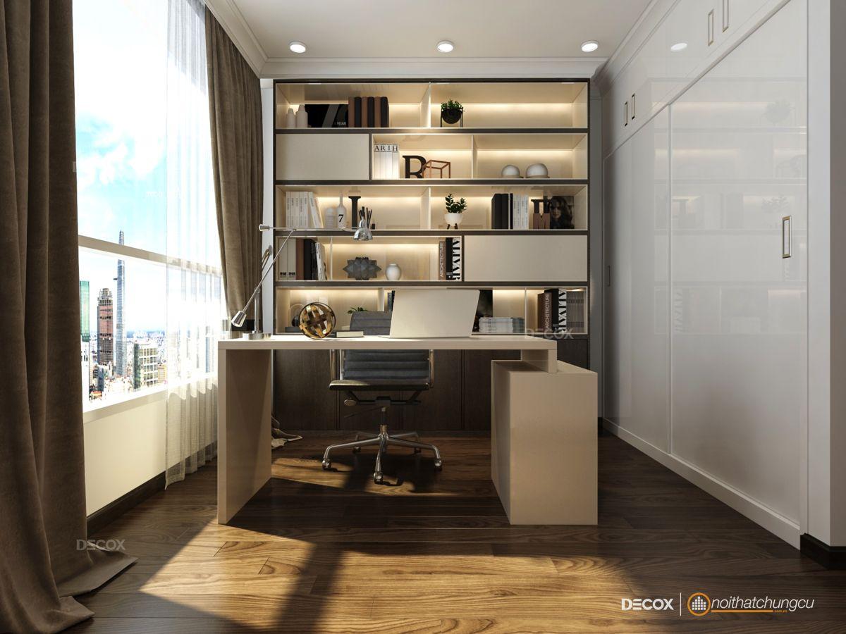 Thiết kế nội thất chung cư 109m2 Vinhomes Central Park