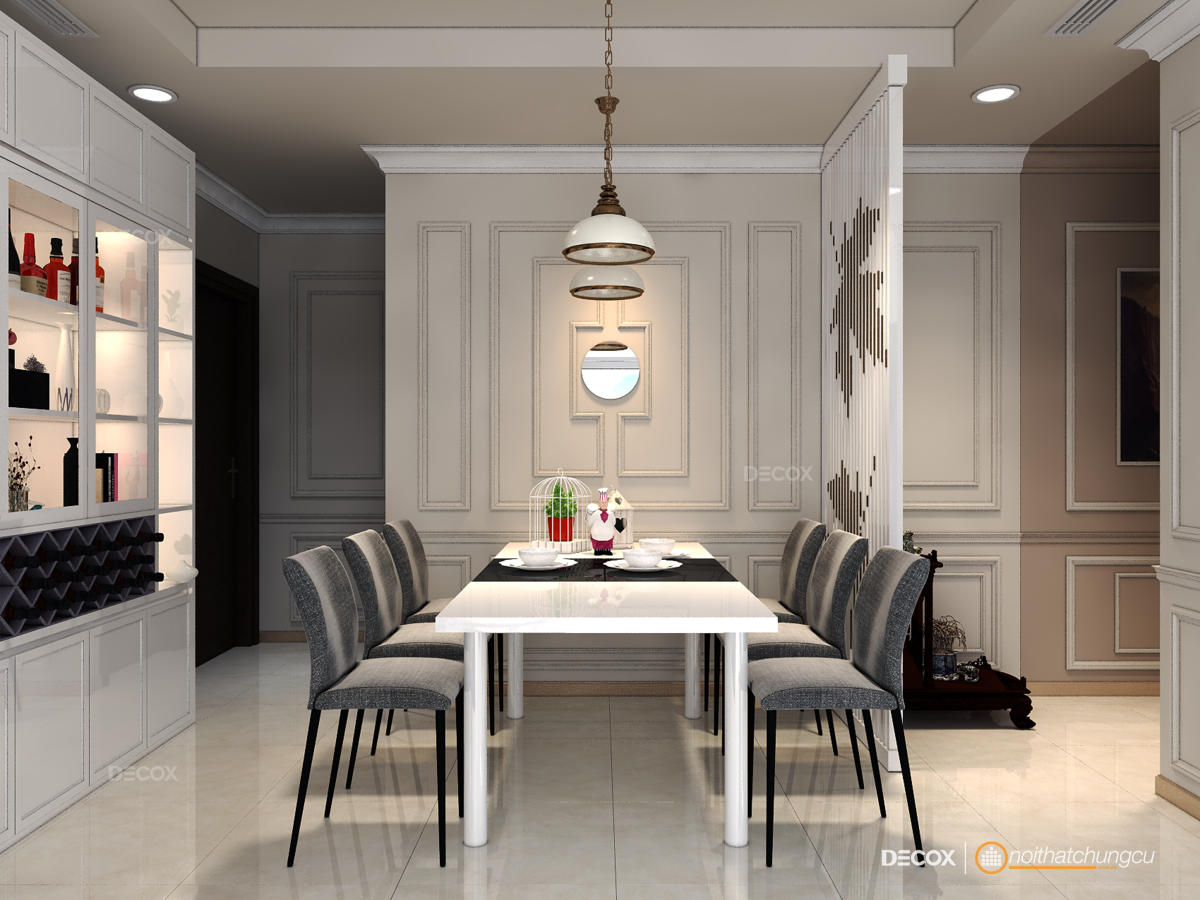 Thiết kế nội thất chung cư 98m2 Vinhomes Central Park