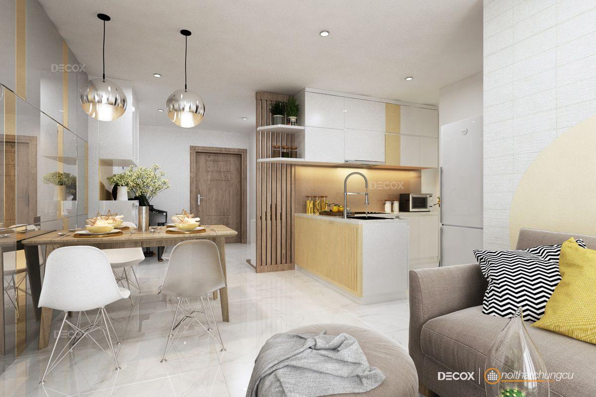 Thiết kế nội thất chung cư70m2 Scenic Valley